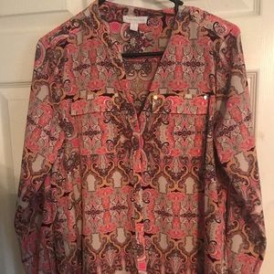 Charter club blouse size small